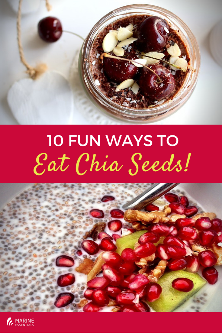 10 Fun Ways To Eat Chia Seeds! (2)