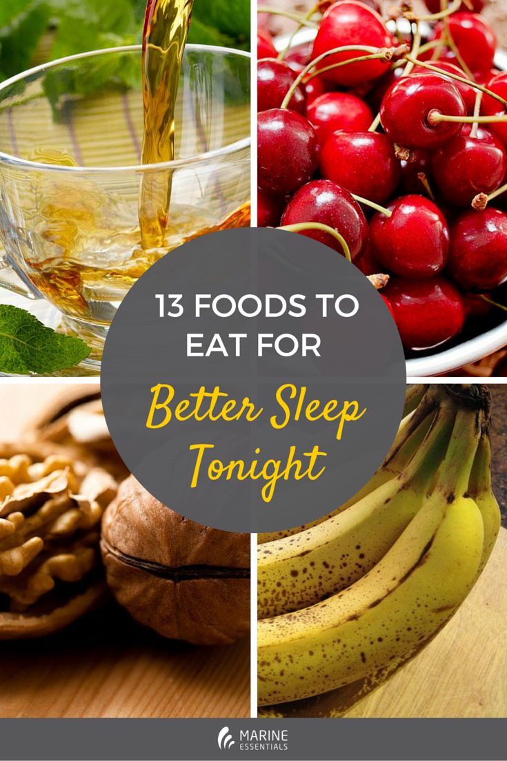 13 Foods to Eat for Better Sleep Tonight