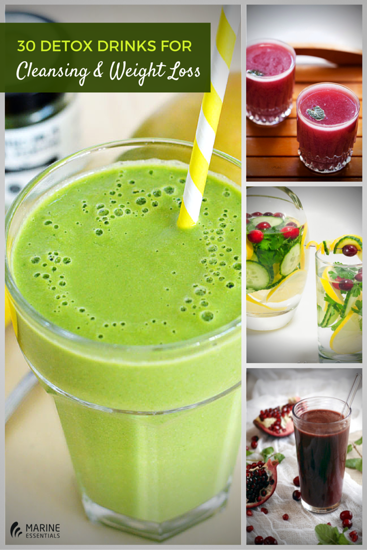 30 Detox Drinks For Cleansing And Weight 1