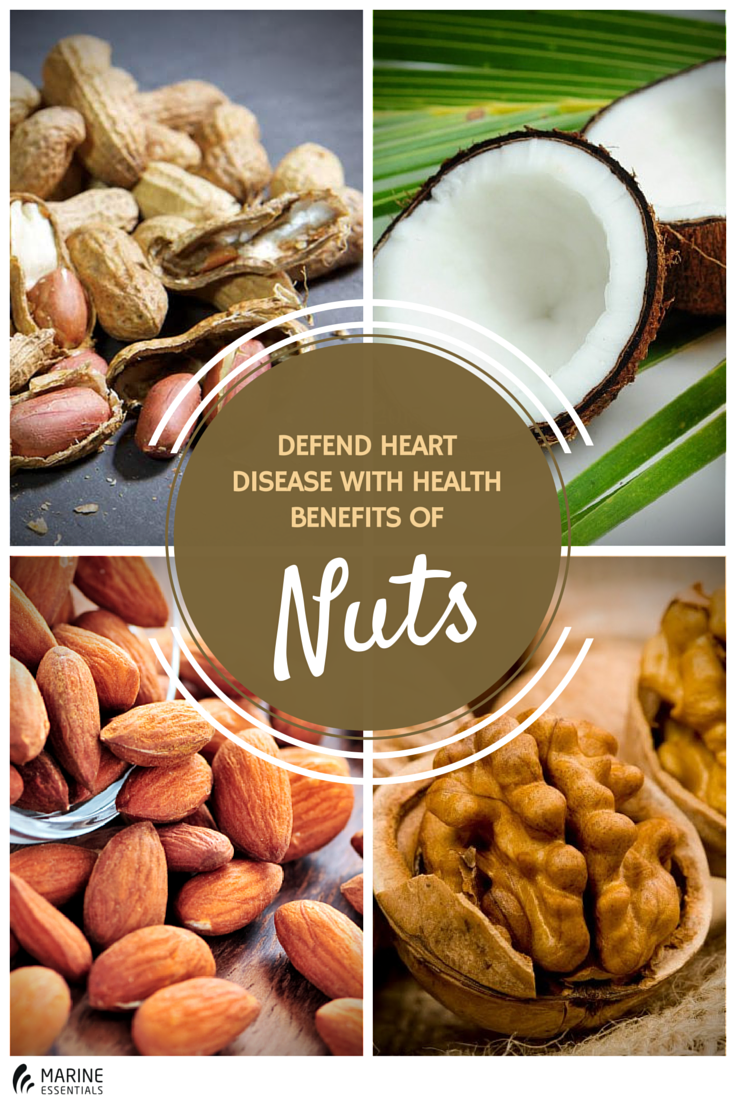 Defend Heart Disease With Health Benefits of Nuts (1)