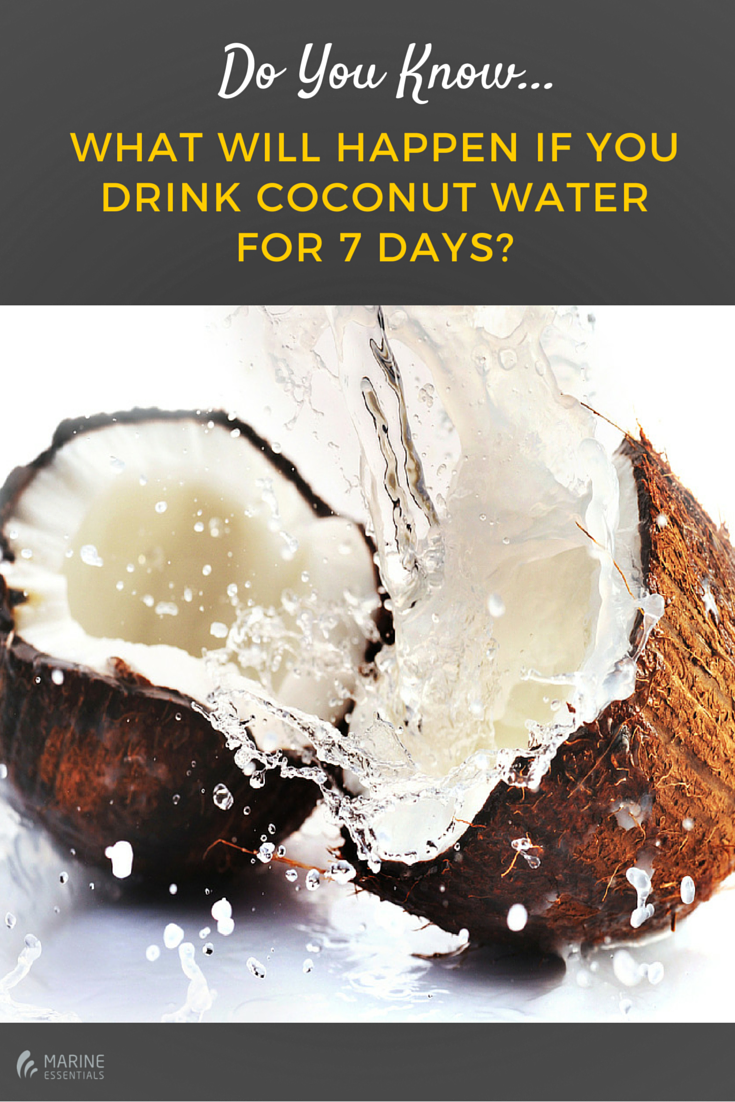 Do You Know What Will Happen If You Drink Coconut Water For 7 Days-