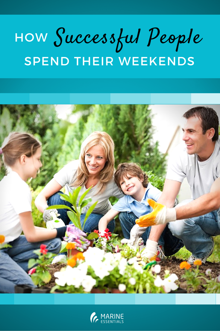 How Successful People Spend Their Weekends