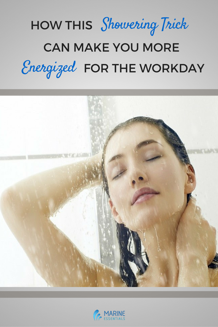 How This Showering Trick Can Make You More