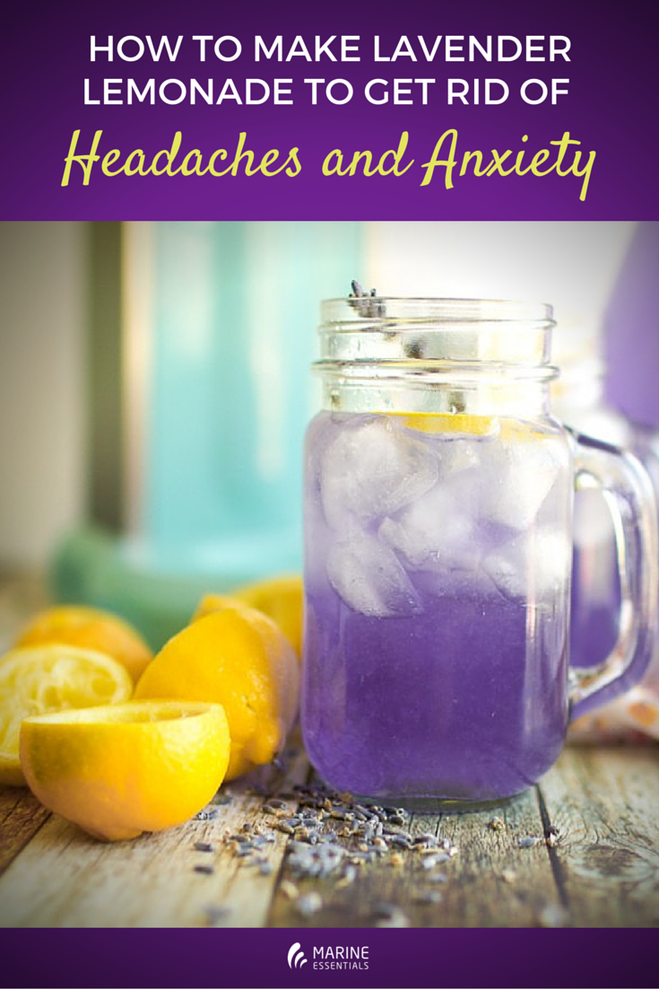 How to Make Lavender Lemonaide to Get Rid