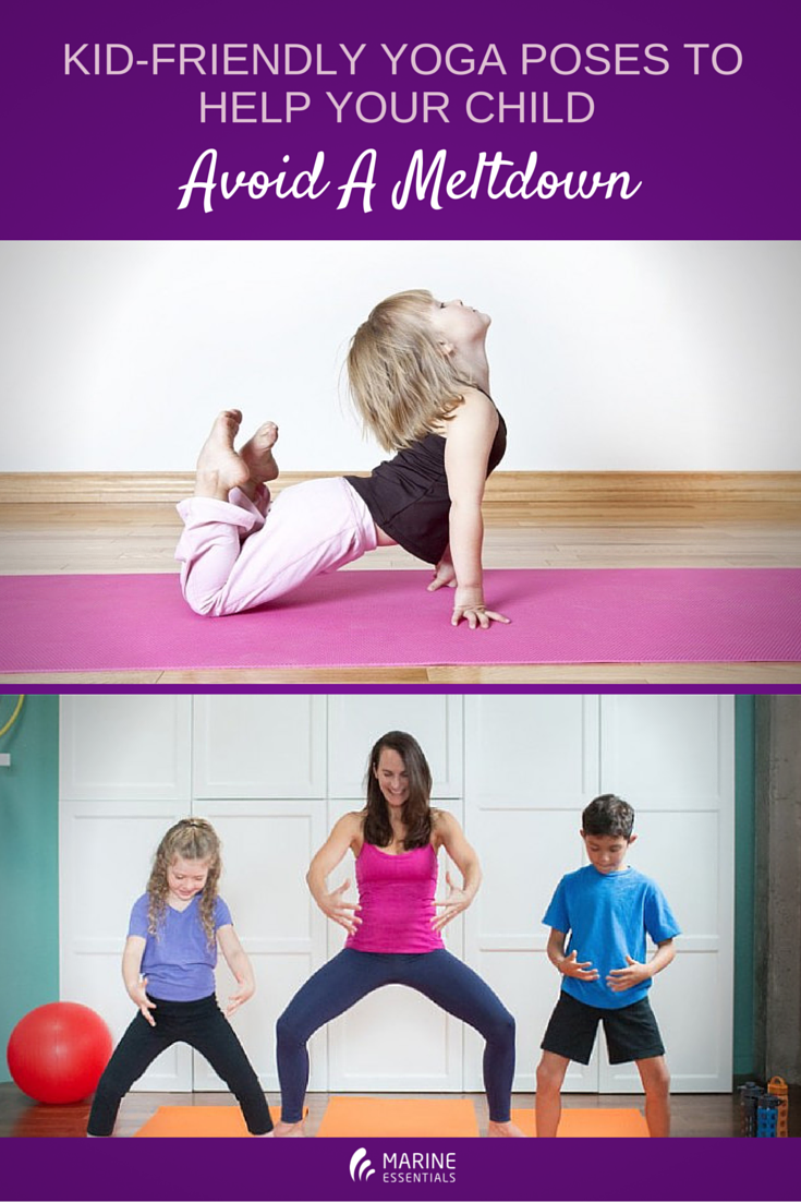 Kid-Friendly Yoga Poses To Help Your Child