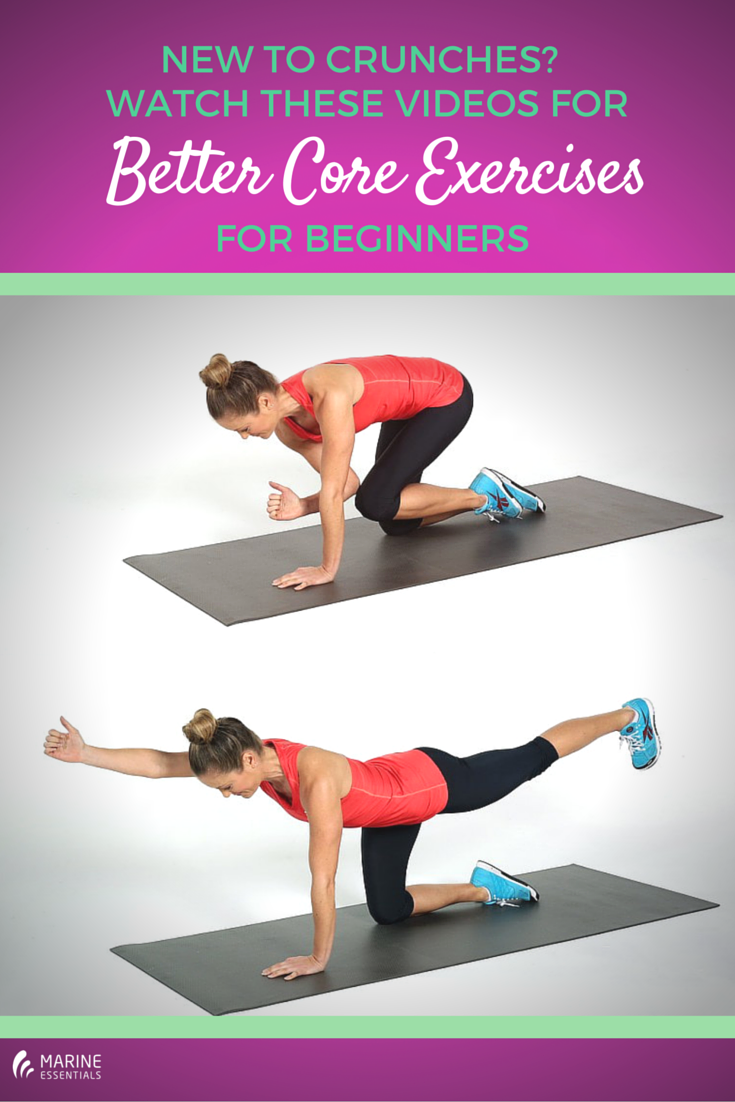 New To Crunches- Watch These Videos For
