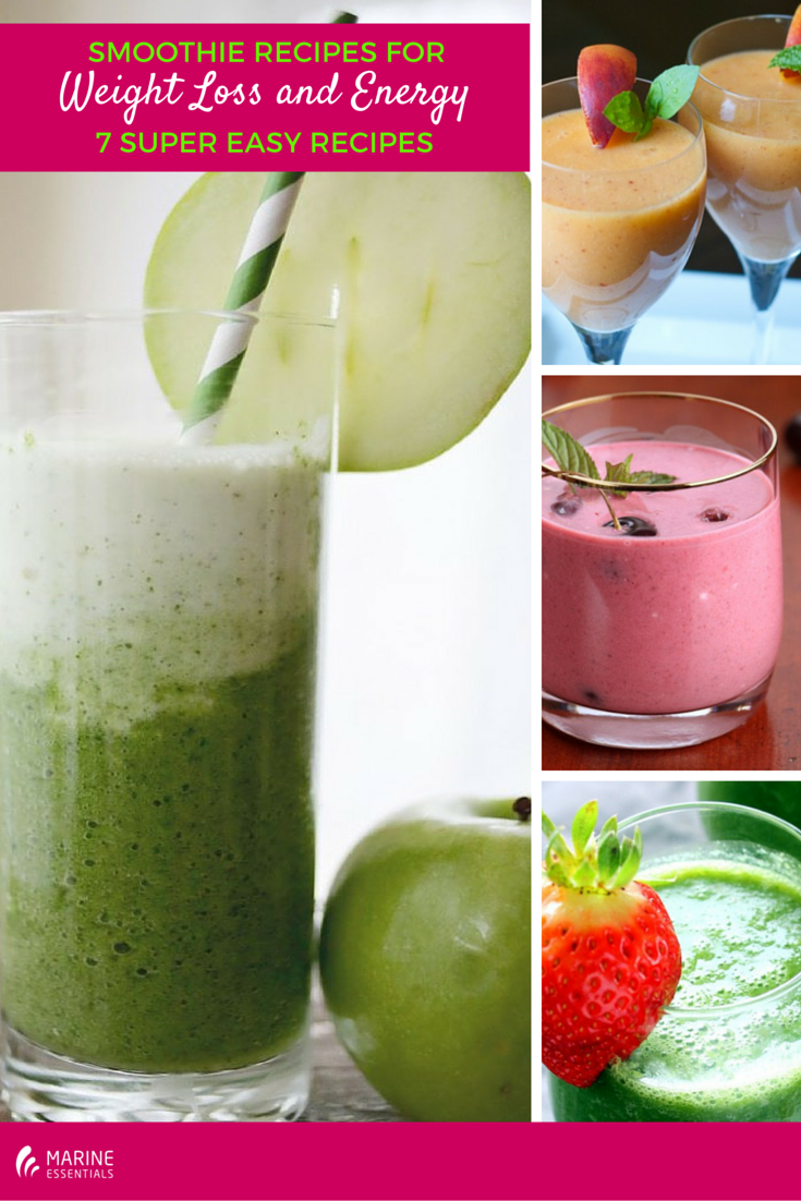 Smoothie Recipes for Weight Loss and Energy