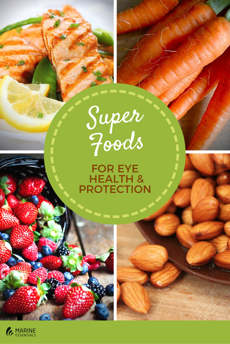 SuperFoods For Eye Health & Protection