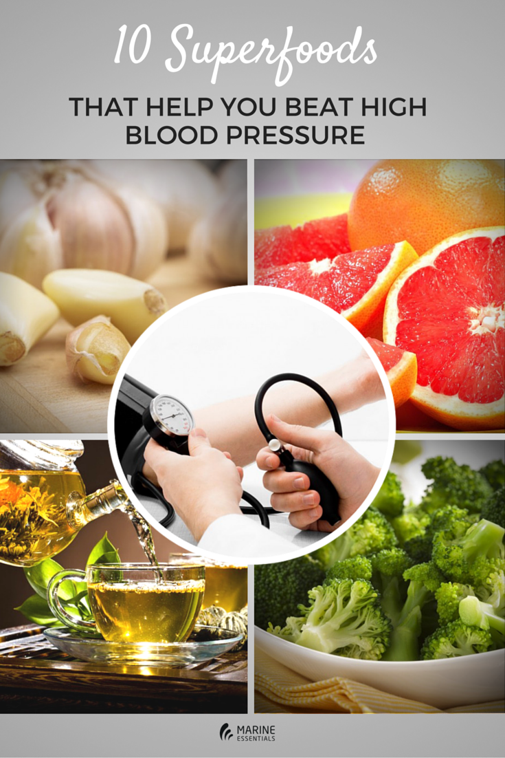 Superfoods That Help You Beat High Blood