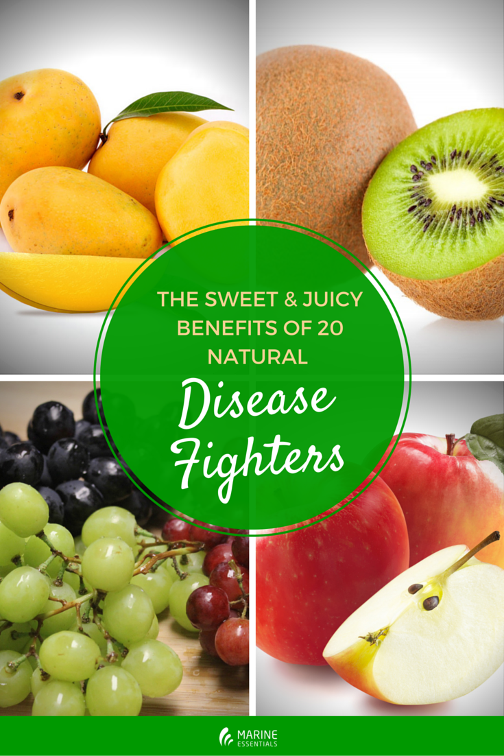 The Sweet & Juicy Benefits of 20 Natural Disease Fighters