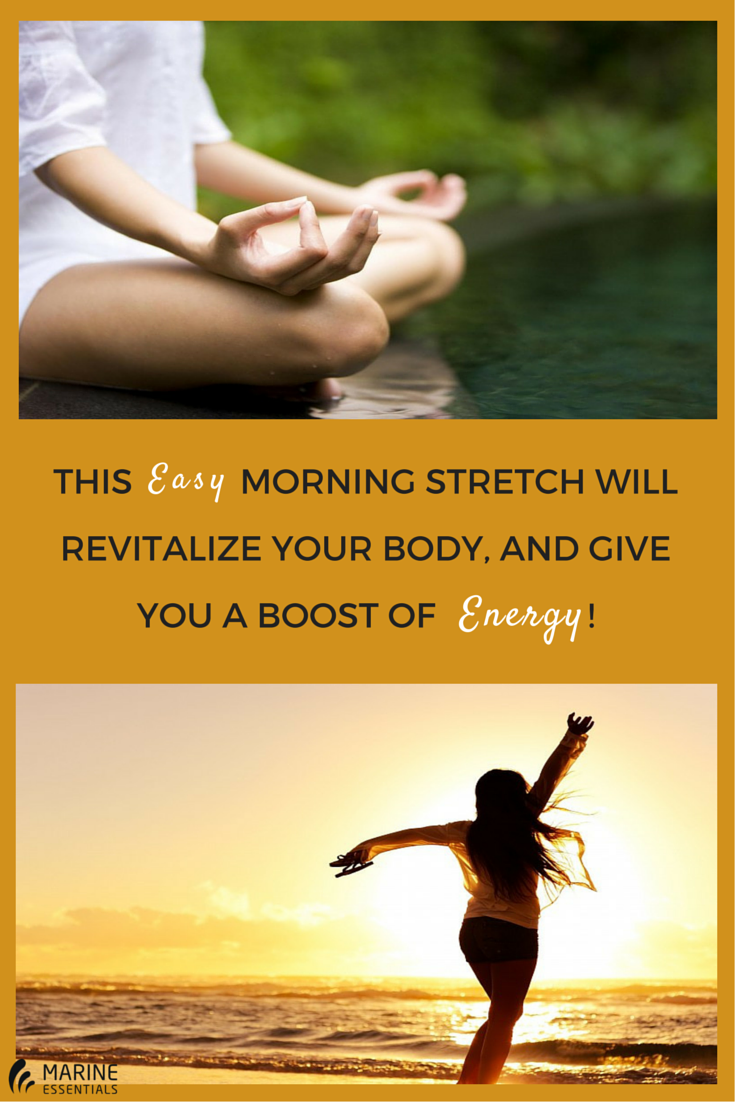This Easy Morning Stretch Will Revitalize