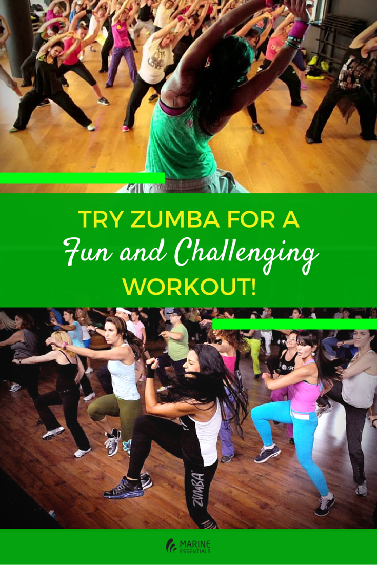 Try Zumba for a Fun and Challenging Workout!