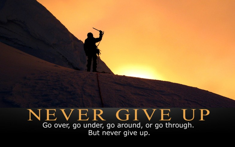 never-give-up