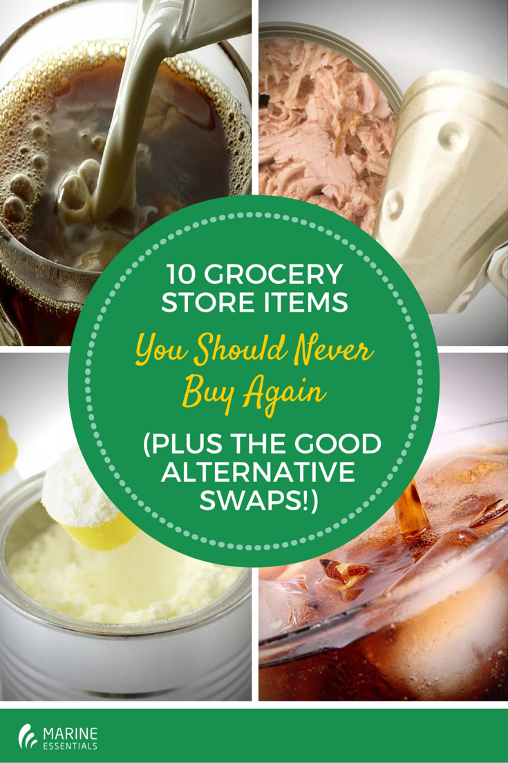 10 Grocery Store Items You Should Never
