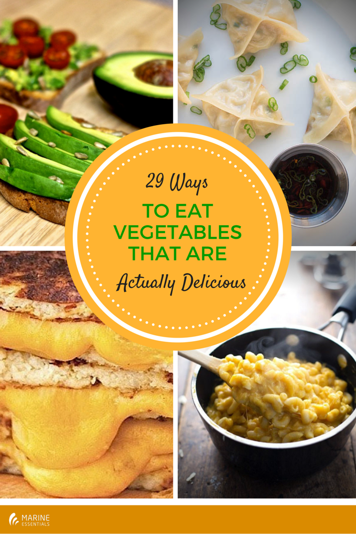 29 Ways To Eat Vegetables That Are Actually