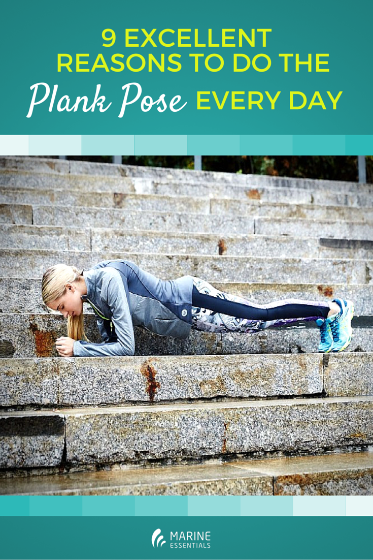 9 Excellent Reasons To Do The Plank Pose