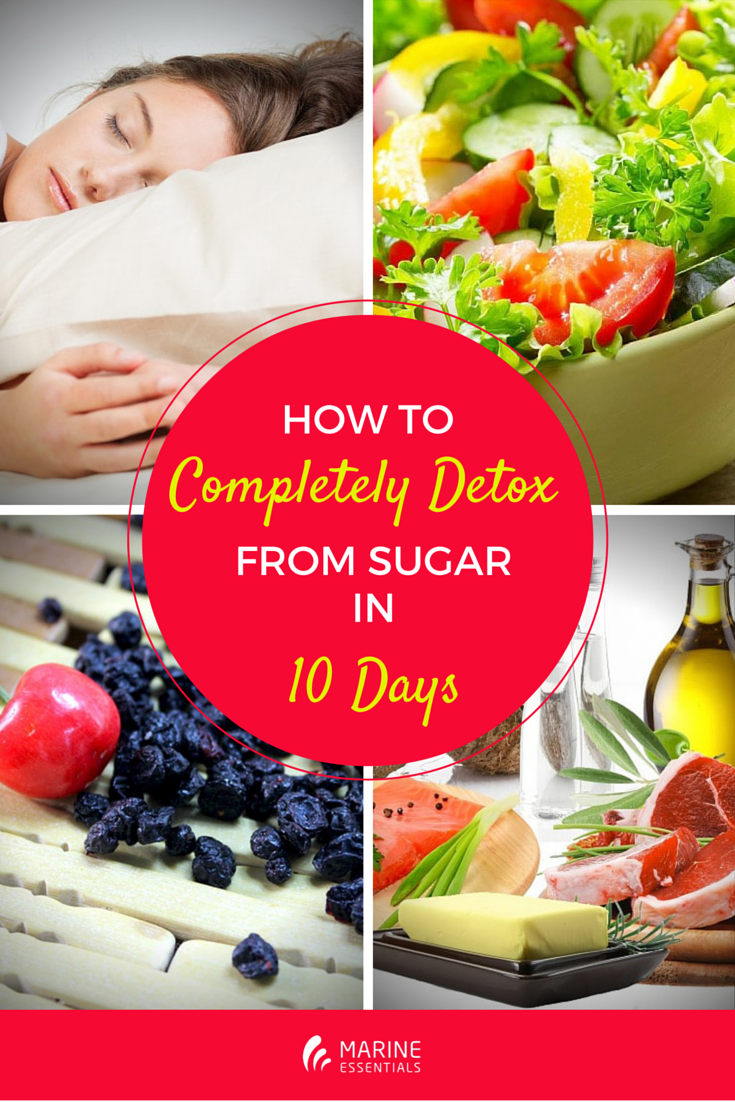 HOW TO COMPLETELY DETOX FROM SUGAR IN 10