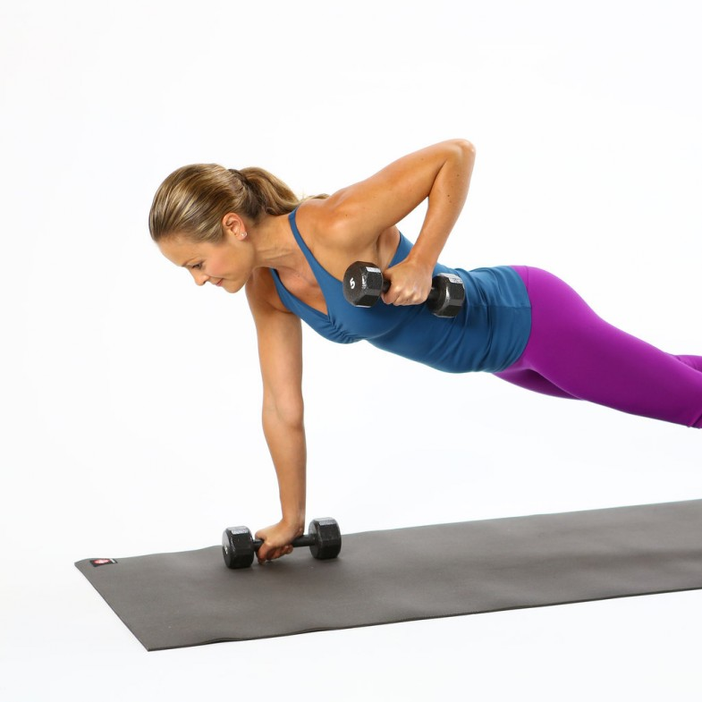 How-Do-Plank-Row-Back-Exercise