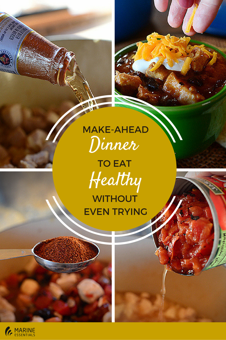 Make-Ahead Dinner To Eat Healthy Without
