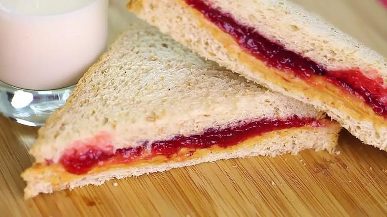 Сэндвич с вареньем рецепт с фото