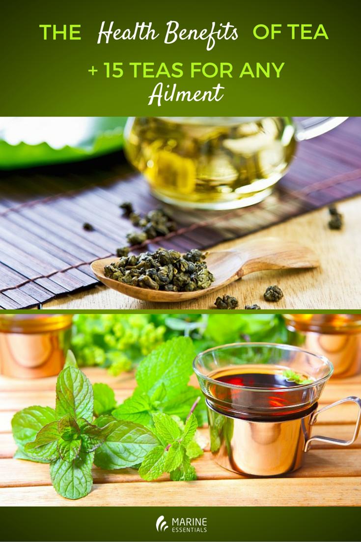 The Health Benefits of Tea + 15 Teas for