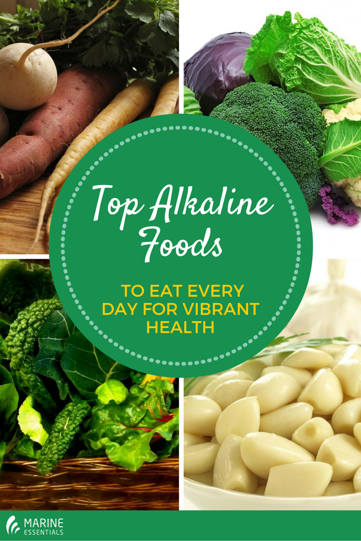 Top alkaline foods to eat every day for