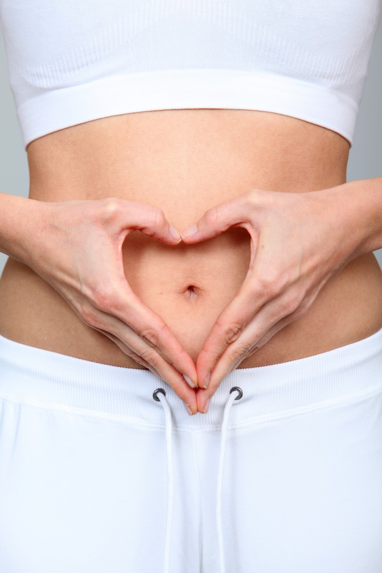 bigstock-Closeup-of-woman-belly-button-16999280